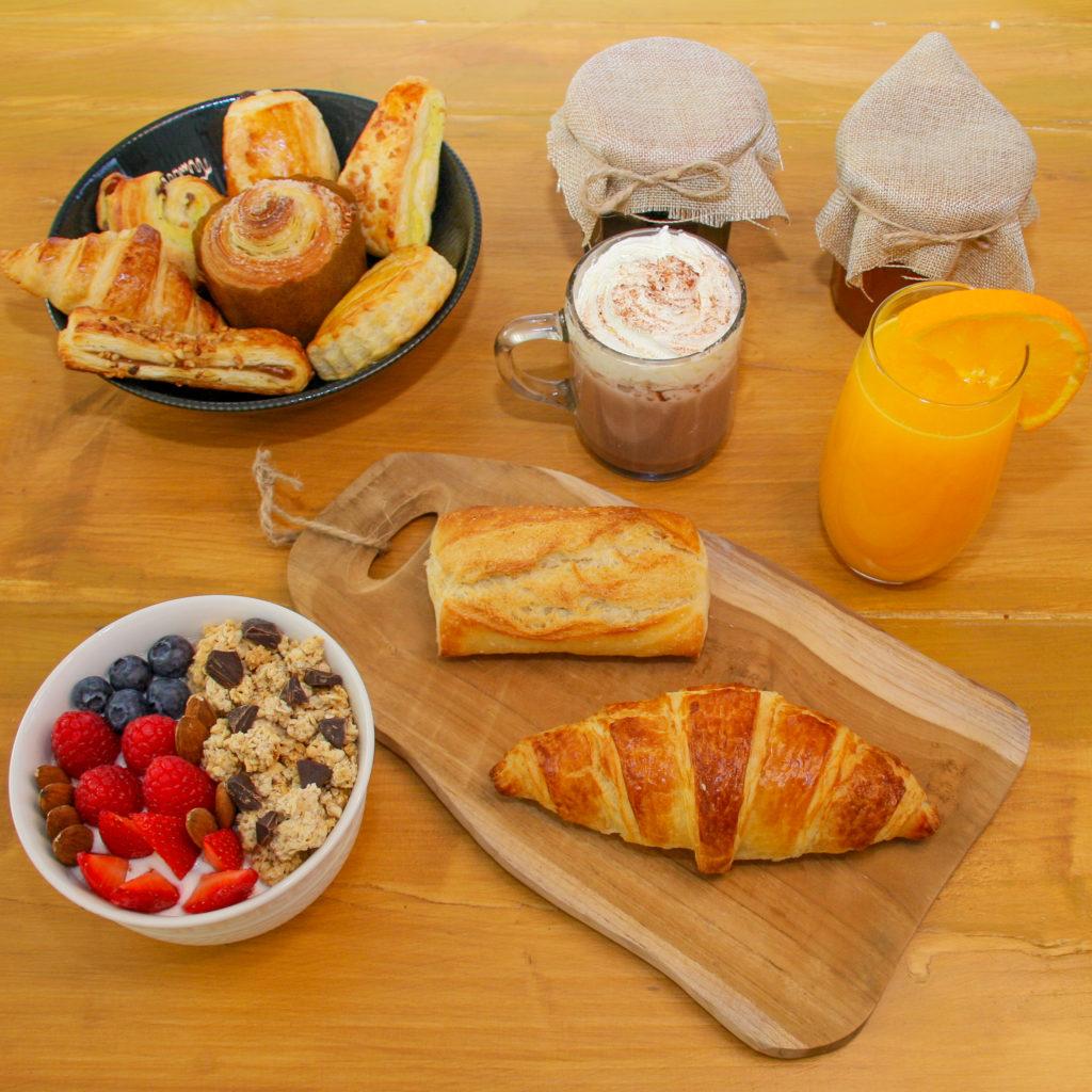 croissant bowl bien-être brioche feuilletée formules petit déjeuner