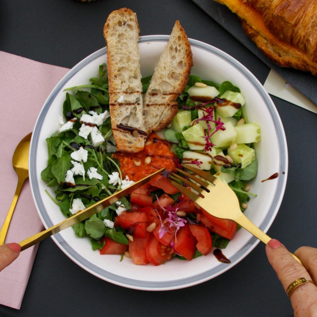 salade pesto rouge-balsamique